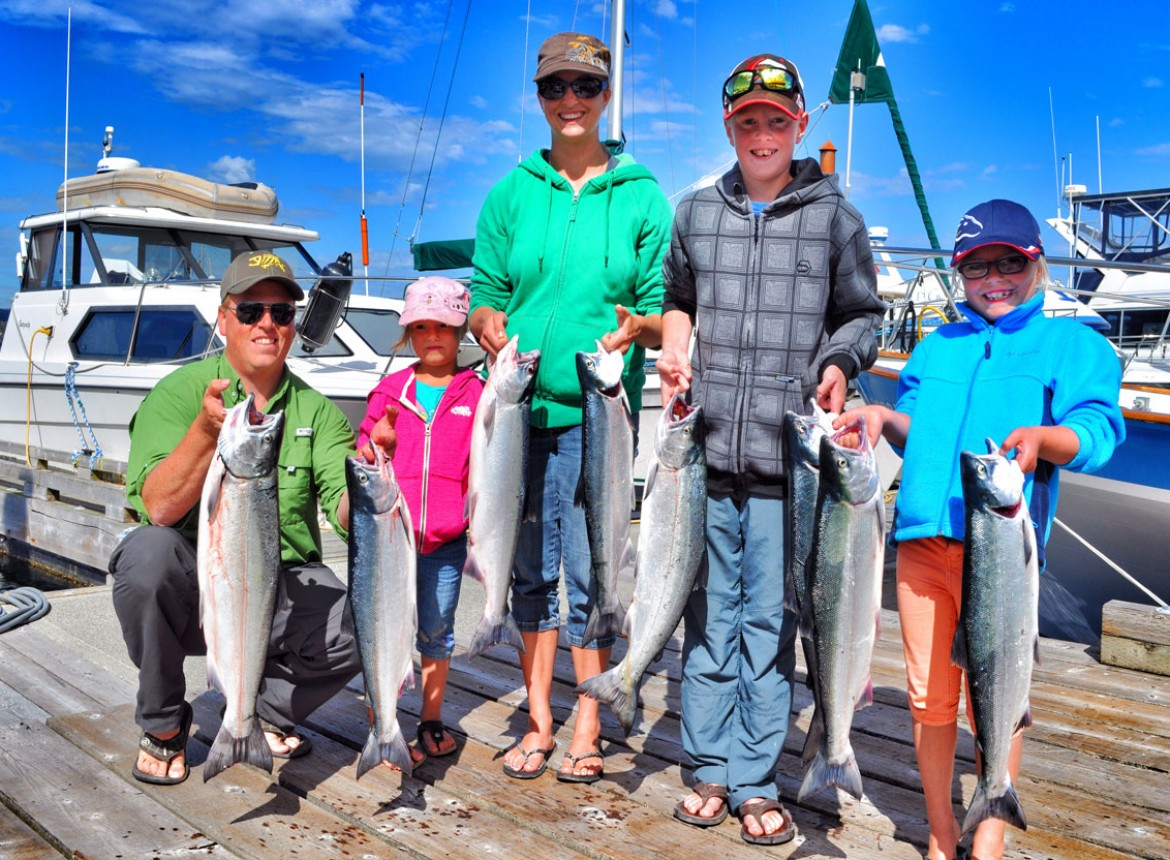 Campbell River's most recommended choice in Guided Sport Fishing for over 20 years.