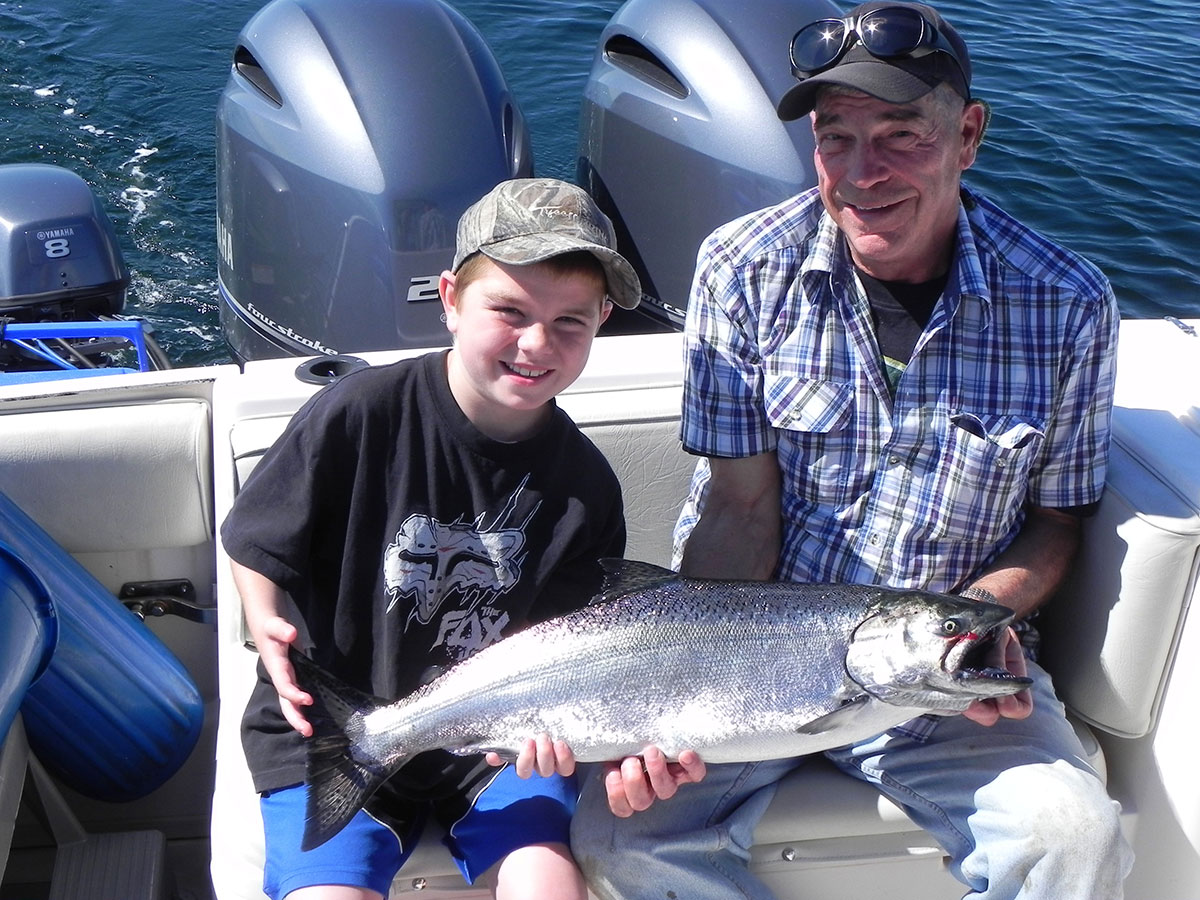 Coastal Island Fishing Adventures starts here at Discovery Marina, Campbell River
