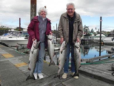 Sportfishing - Coastal Island saltater Salmon Advenuture