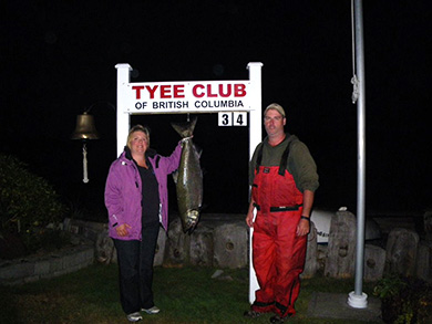 """Tyee Fishing these are the words you will here every time """"Absolutely Awesome!"""""""