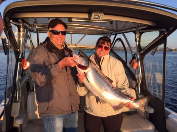 Campbell River Guided Salmon Fishing